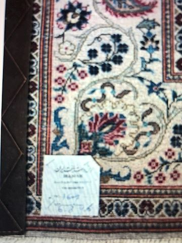 Hand knotted Iranian rug