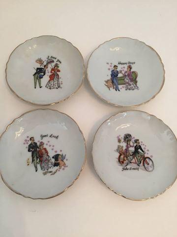 Japanese Wedding Plates