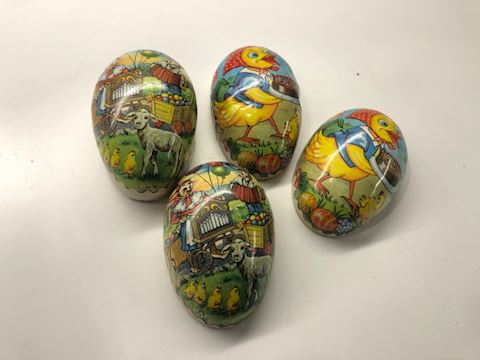 Vintage Paper Mache Eggs
