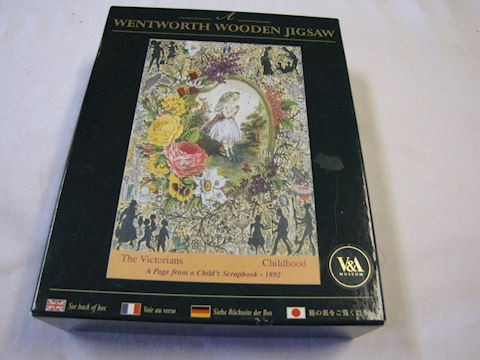 Jigsaw Puzzle - Wood Pieces by Wentworth
