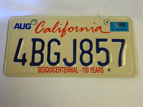1999 CA Plate