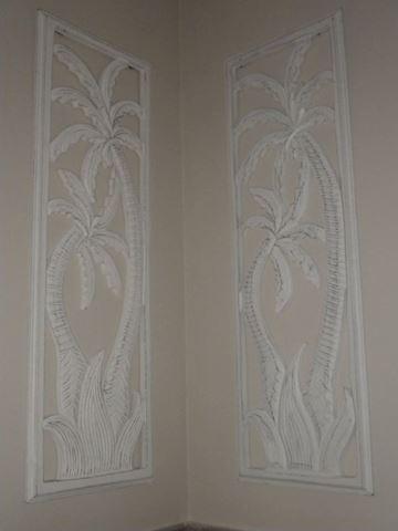 White Wooden Wall Art