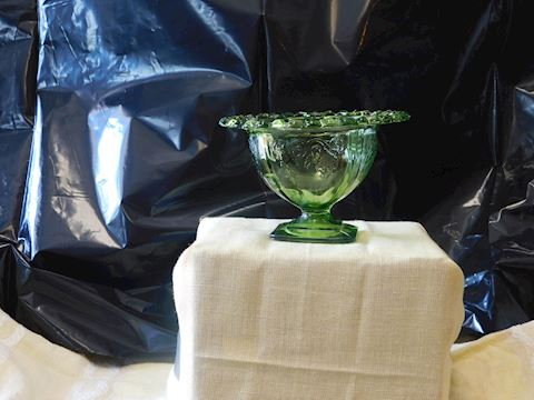 Green Madrid Open Lace Bowl