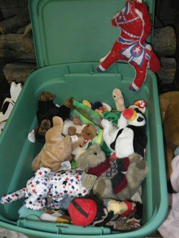 Lot #49 - Stuffed Animals (Basement)