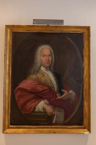 Lot 0026 Portrait of  Italian Nobleman