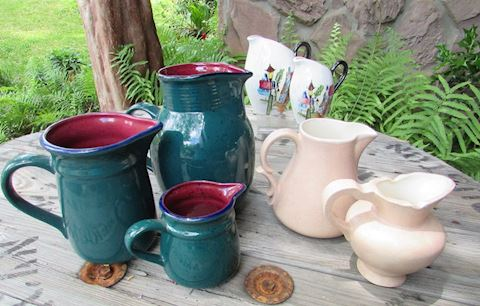 Assorted Lot of Pitchers