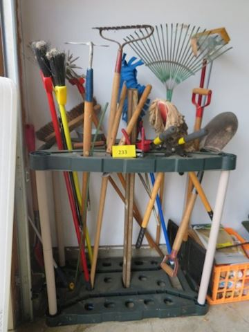 Rack full of Tools