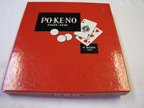 Po-Keno 8 sheet Game