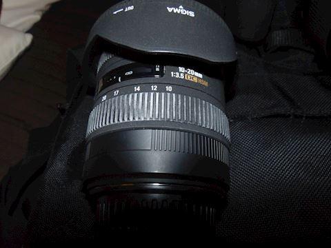 Cannon EX Sigma lense