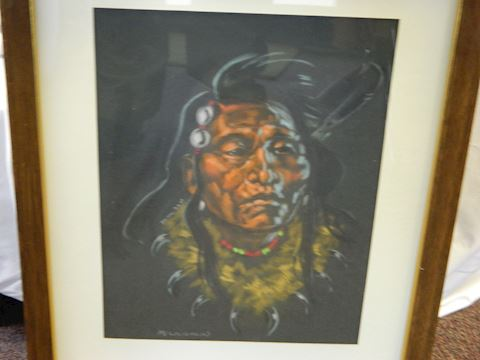 Framed Original Oil Painting - McLaughlin