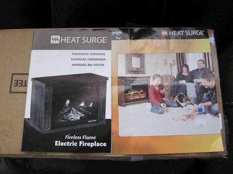 Heat Surge Electric Fireplace Heater