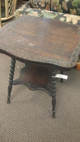 Antique Side Table - #2479