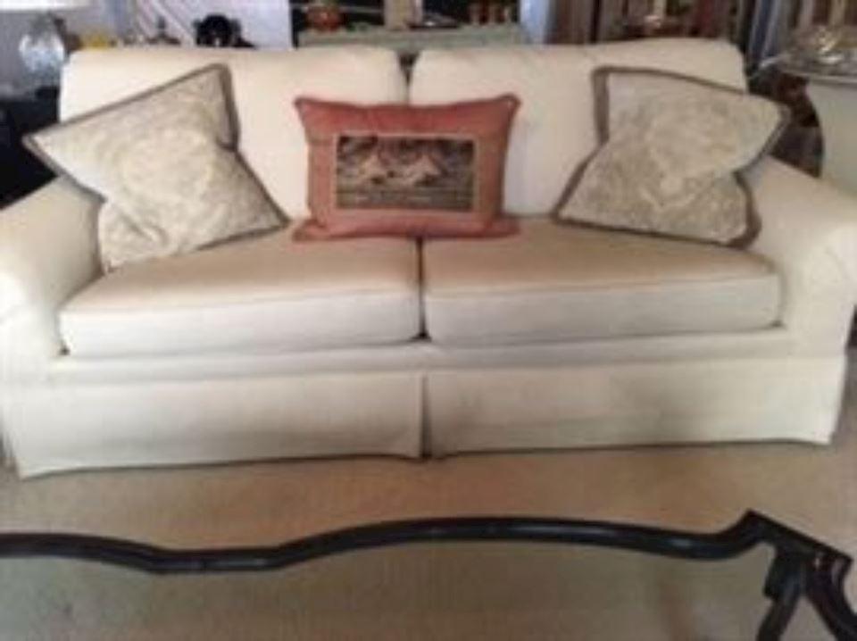 Pair Of Custom Sofas