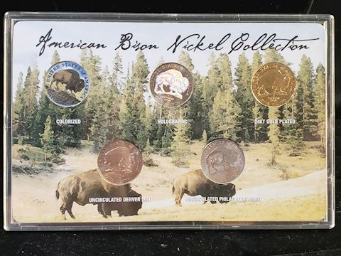 American Bison Nickel Collection