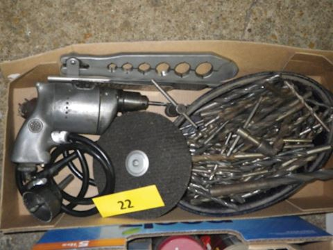 Lot #22 - Electric Drill (Garage)