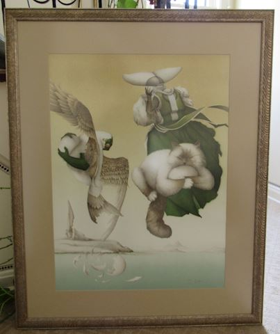 Broken Promises, Michael Parkes Litho 184/300