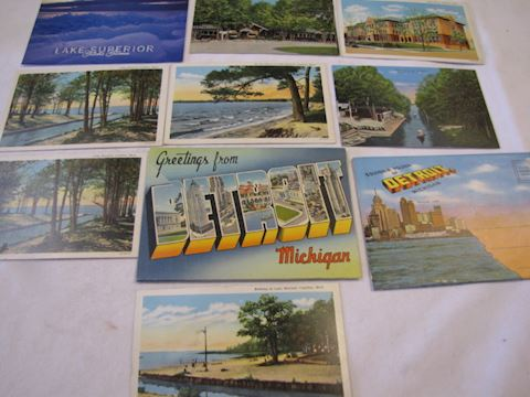 Michigan Collectible Post Cards