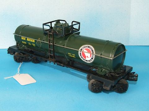 6304  GREAT NORTHERN SINGLE DOME TANK CAR 1981