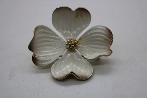 Vintage Marvella  Dogwood Pin Jewelry