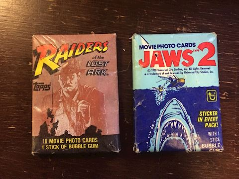 Wacky Packages Movie Trading Cards Jaws