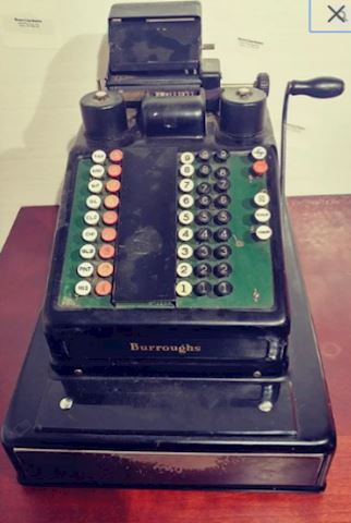 Antique Cash Register Machine
