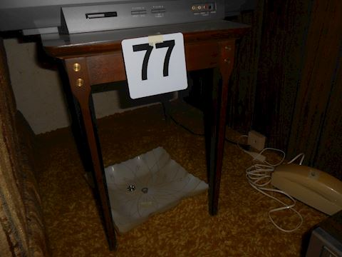 Lot #77 Mid-Century end table