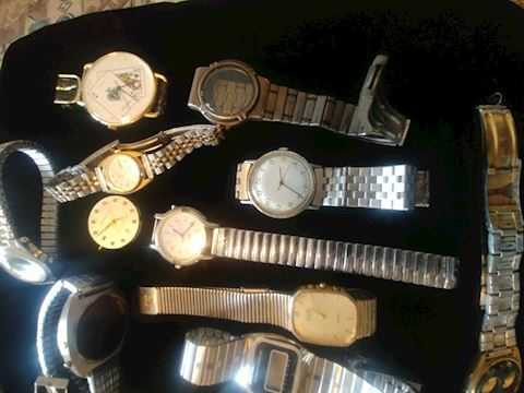 WATCHES AND PARTS