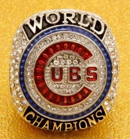 Chicago Cubs Championship Ring - Reproduction