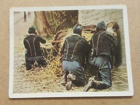 RARE World War 1 German Military Cigarette Card