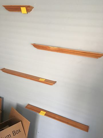 Wooden Wall Mounted Shelves Ledges