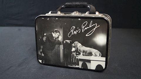 Lot #19 Elvis Presley Container Memorabilia Pack