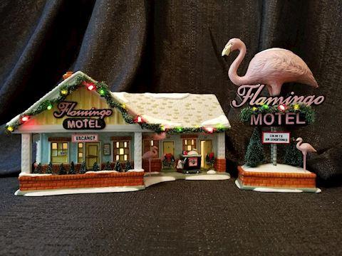 Department 56 The Flamingo Motel