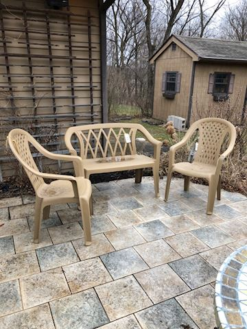 Outdoor Seating - set/3