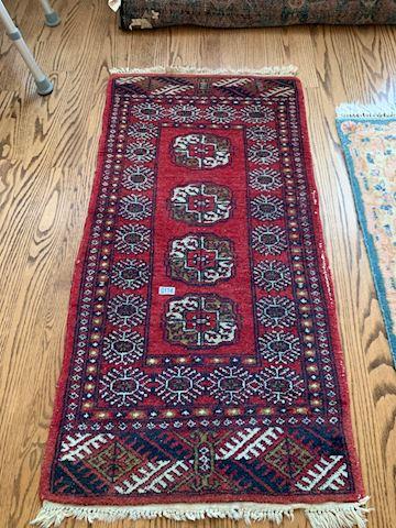 Lot 0114  Vintage  Wool Prayer Rug