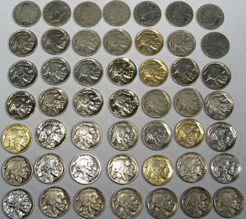 Estate Collection of 100 Buffalo Nickels