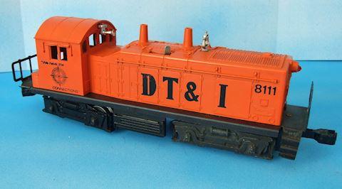 8111 LIONEL SWITCHER ENGINE, DT&I