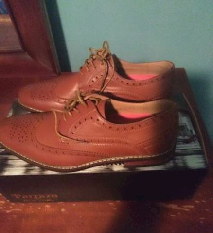 Brand New in Box Men's  Parraozo Shoes Size 9 1/2