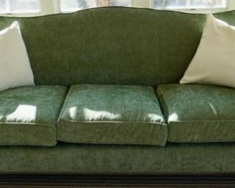 Custom Green Soft Plush Coach