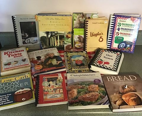 Lot of #13 Great Cook Books Paula Dean & More,