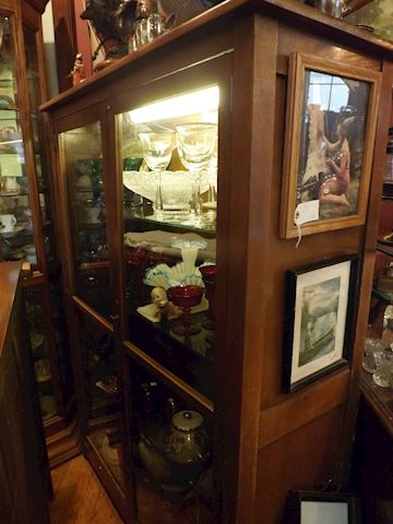 1909 Showcase Display Cabinet