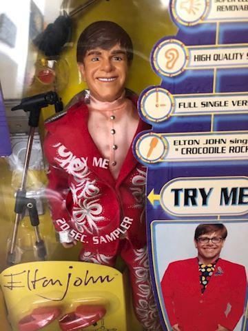 Elton John Sings Crocodile Rock Doll