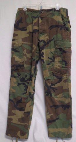 US Army Uniform Combat Pants Camouflage Size M