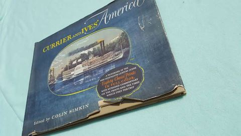 1952 Currier & Ives' America Book