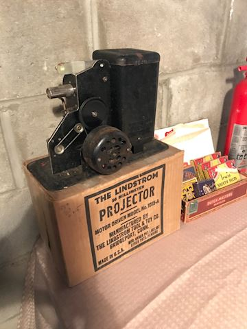 The Lindstrom 36 mm projector