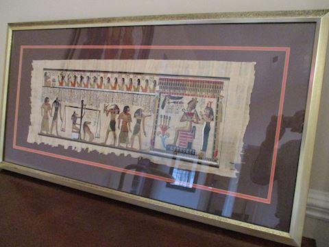 Egyptian Art on Papyrus
