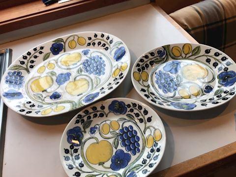 Arabia dishes
