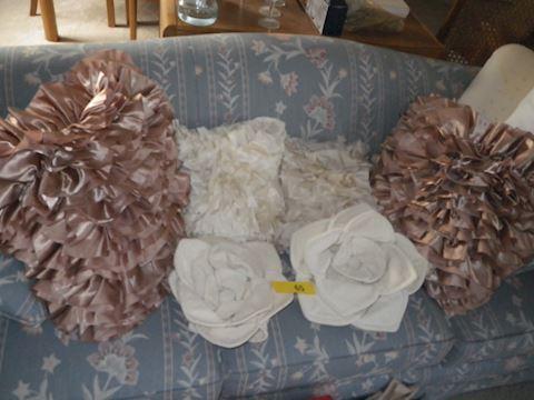 Lot #65- Decorative Pillows (LR)