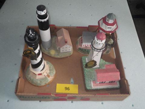 Lot #96 - Lighthouses