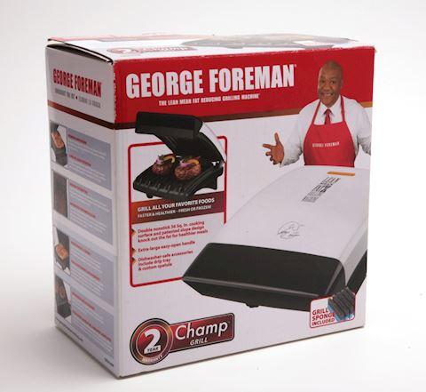 George Forman Champ grill in original box
