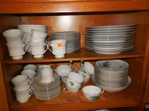 Set of China Service for 12